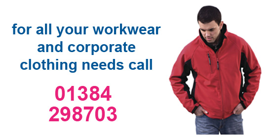 for all your workwear and corporate clothing needs please call AGL Corporate Merchandising ltd on 01384 298703